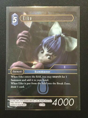 Final Fantasy TCG: Opus 8 Water Standard // Foil Eiko 8-112R