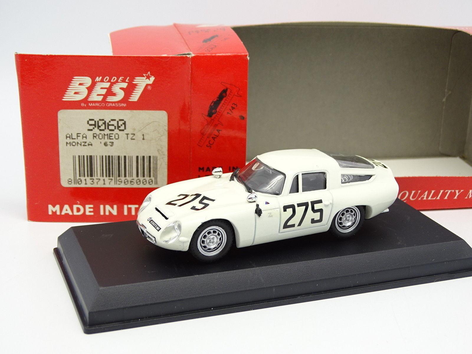 Best 1 43 - Alfa Romeo TZ1 Monza 1963