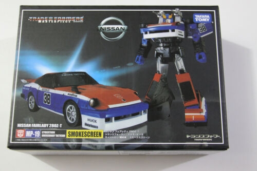 Transformers G1 Masterpiece MP-19 Smokescreen Action Figure Boxed
