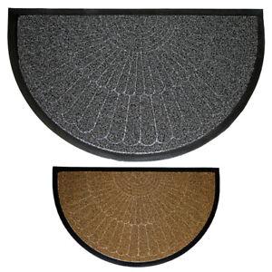OLIVO.shop - STRONG Zerbino a mezzaluna inciso in gomma due colori 45x75 cm