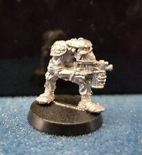 Warhammer40k rogue trader Space Ork Raider Trooper 4 metal oop unpainted 1987