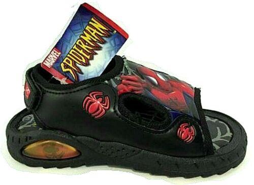 Garçons Marvel Spiderman Touch Strap Été Plage Sandales Sport Sandale Chaussures