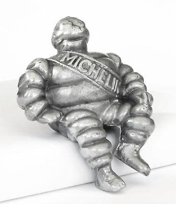 Superb Aluminium Michelin Man Car Bonnet Scooter Mascot Bibendum Hood Ornament