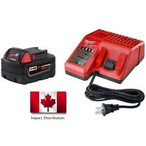 Milwaukee M18 REDLITHIUM™ XC 5.0 System Starter Kit 48-59-1850