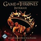 Game of Thrones Westeros Intrigue Card Game-