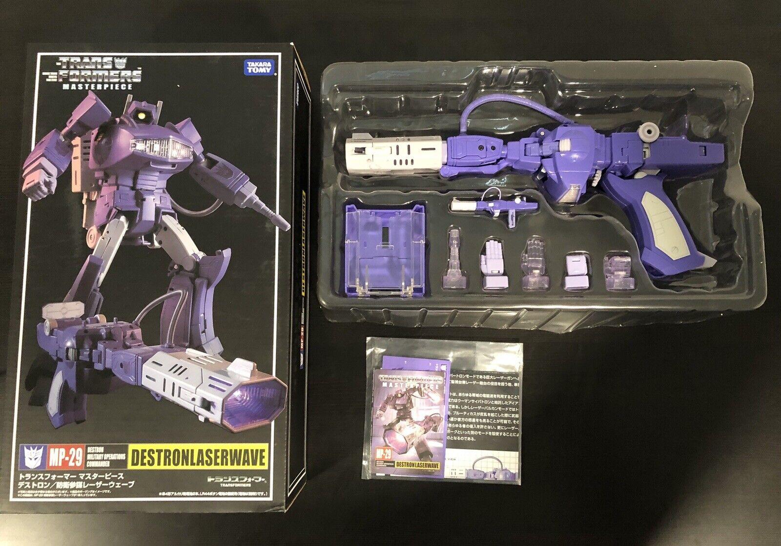 Para tu estilo de juego a los precios más baratos. Transformers Masterpiece MP-29 Shockwave Destron Laserwave Vendedor Vendedor Vendedor de Estados Unidos  venta mundialmente famosa en línea