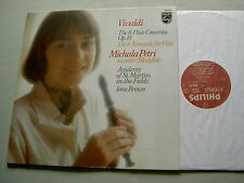 Philips 9500 942 VIVALDI The 6 Flute Concertos Op. 10 Petri Iona Brown vinyl LP