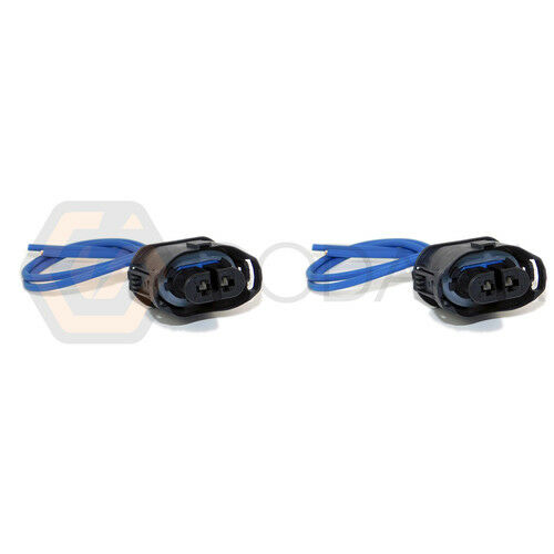 2x Connector 2 pin 2-way for Fog Light BMW 61132360041