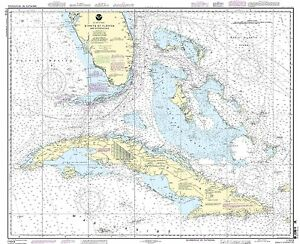 NOAA Chart Straits of Florida and Approaches 48th Edition 11013