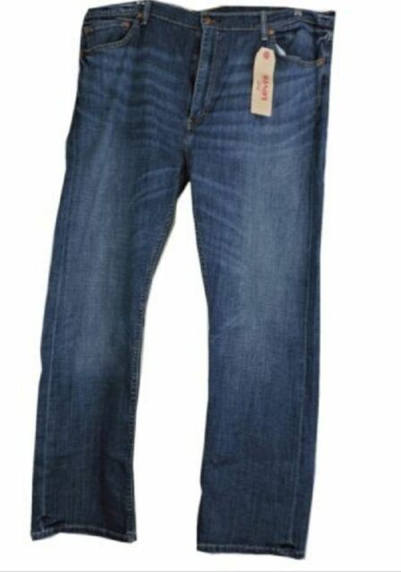 21c4950a1e0 Levi's Men's 505 Regular Fit Straight Leg Jeans Indigo 32 X 34 for ...