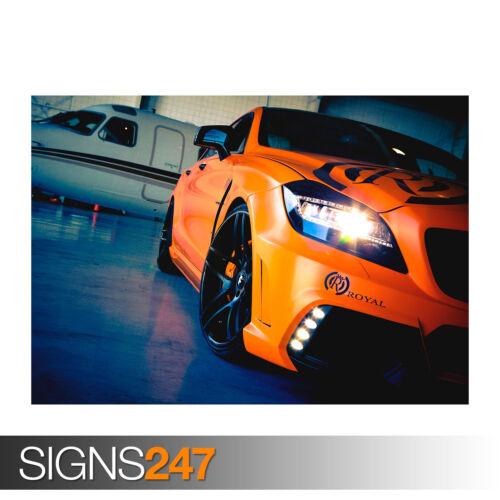 MERCEDES BENZ CLS ROYAL 0273 Car Poster Photo Poster Print Art * All Sizes