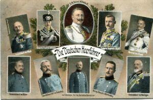 uralte-AK-Die-Deutschen-Heerfuehrer-Kluck-Hindenburg-Buelow-Feldpost
