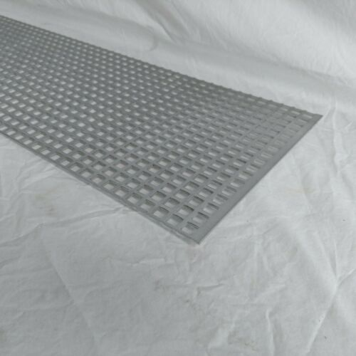 """Perforated Metal Aluminum Mill Sheet 1//8/"""" Thick 24/"""" x 24/"""" x 1//2/"""" Square hole"""