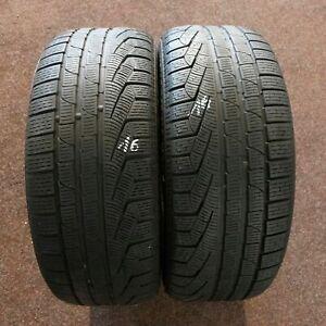 2x-Pirelli-Sottozero-Hiver-240-Serie-II-245-45-r19-102-V-2015-5-mm-Runflat-RSC