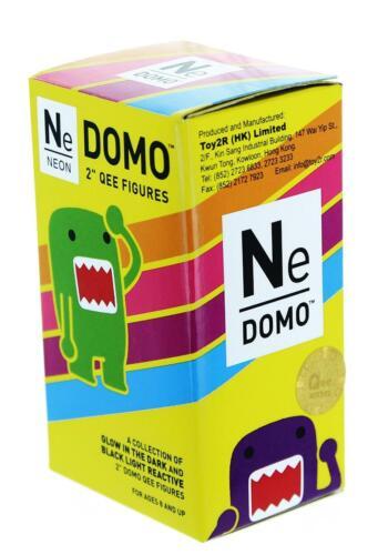 Domo Qee Néon aveugle Paquet Series Mini Figure