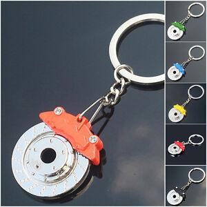 Hot Sale Spinning New Disc Brake Shape keychain keyring key chain Ring key Metal