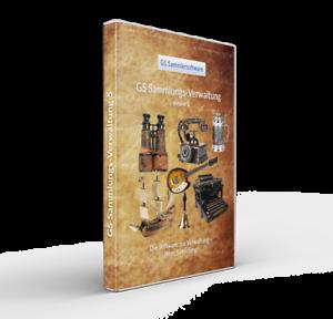 Sparsam Gs Sammlungsverwaltung 5 - Software Programm Für Sammler - Sammlung Verwalten