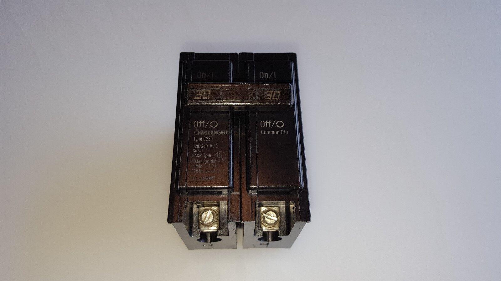 CHALLENGER C230 U 30A 240V 2 USED