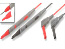 Right  Angled 4mm Test lead set fits fluke Multimeter Removable Probe cover