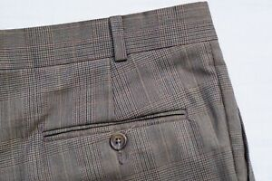 Ralph Lauren Polo University Club Super 100s Pleated Wool