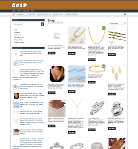 GOLD-JEWELRY-WEBSITE-1-YEARS-HOSTING-DOMAIN-EASY-TO-RUN