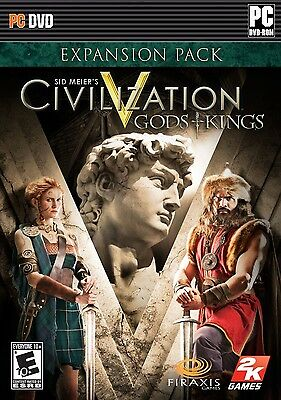 "*NEW* Sid Meier's Civilization V ""Gods and Kings"" Expansion Pack for PC"