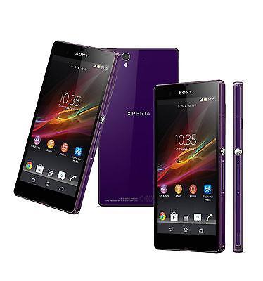 Sony Ericsson XPERIA Z 4G C6603- 16GB 13.1MP - Purple (Unlocked) IP57 Smartphone