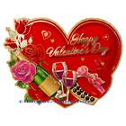 Valentine's Day Hanging Heart Door Wreath Romantic Room Home Wall Decorations
