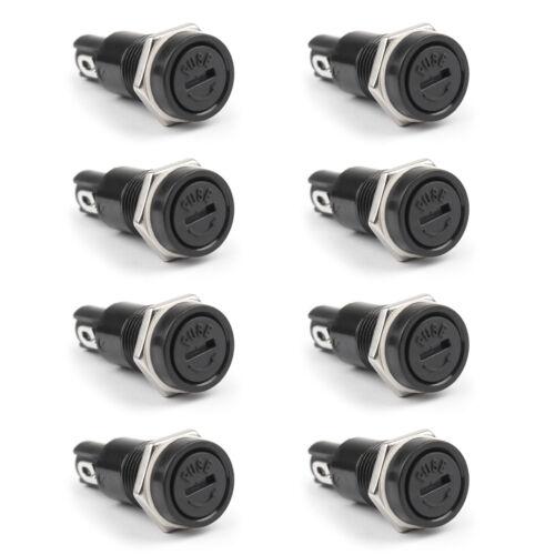 SCI R3-11 Plattenmontage Chassis Sicherungshalter Für 5x20mm Fuses 10A 250V CS