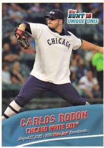 2016-Topps-Bunt-Baseball-Fisica-Unico-Unis-Uu-4-Carlos-Rodon-Bianco-Sox