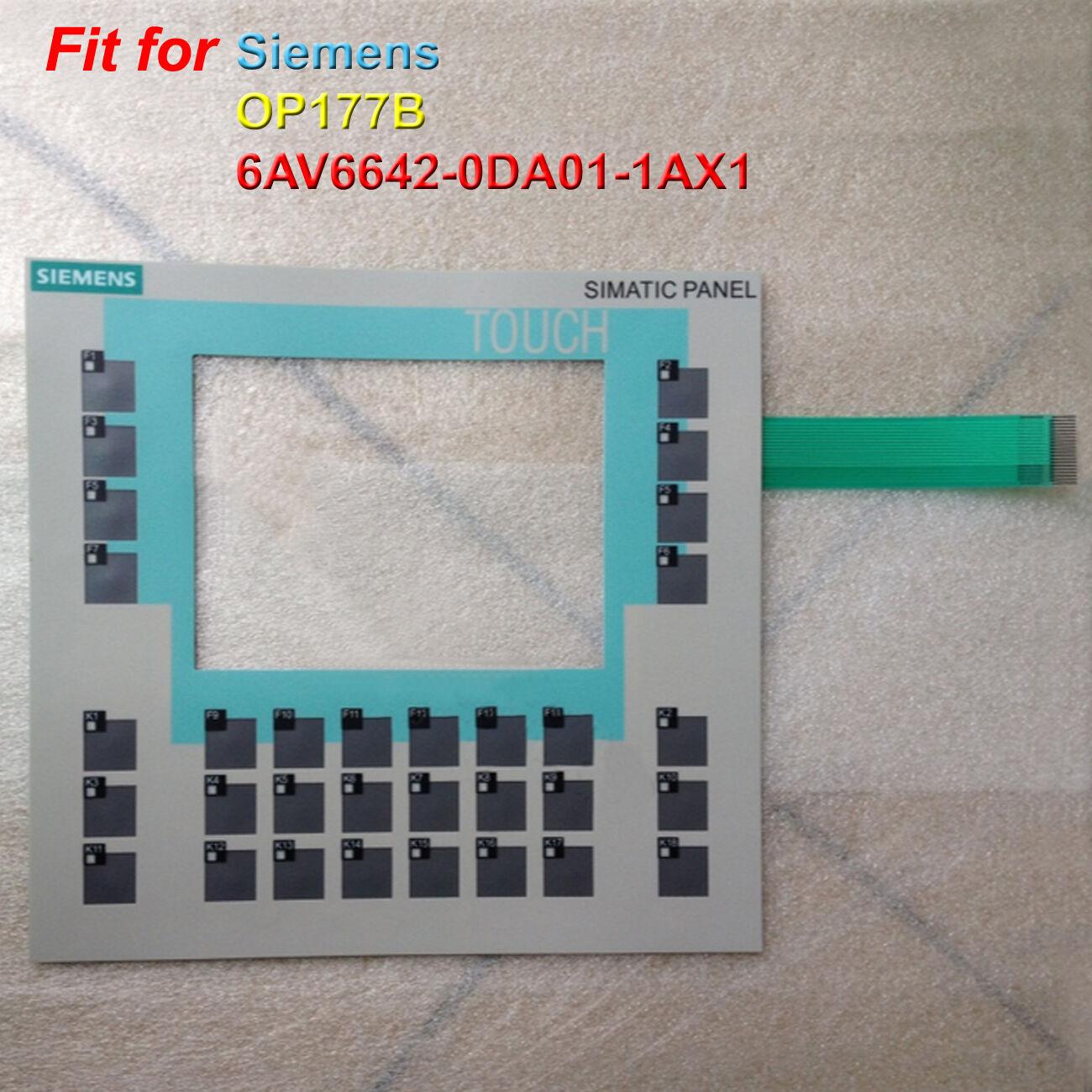 For SIEMENS OP177B 6AV6642-0DA01-1AX1 Membrane Keypad 1-Year Warranty