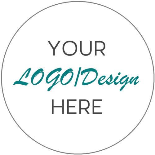 Business Company nom//logo personnalisé étiquettes imprimées merci autocollants 45 mm