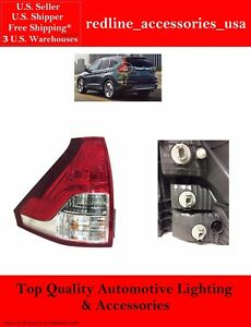 for 2012-2014 Honda CR-V Rear Tail Light Lamp Assembly // Lens // Cover Go-Parts 33550-T0A-A01 HO2800183 Replacement 2013 Driver Left