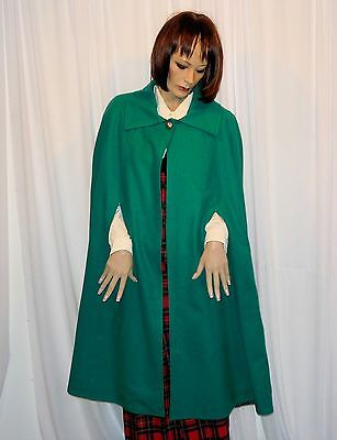 READY TO SHIP Pendleton WOOL Green Cape 1 of a Kind Saint Patrick's Day Parade
