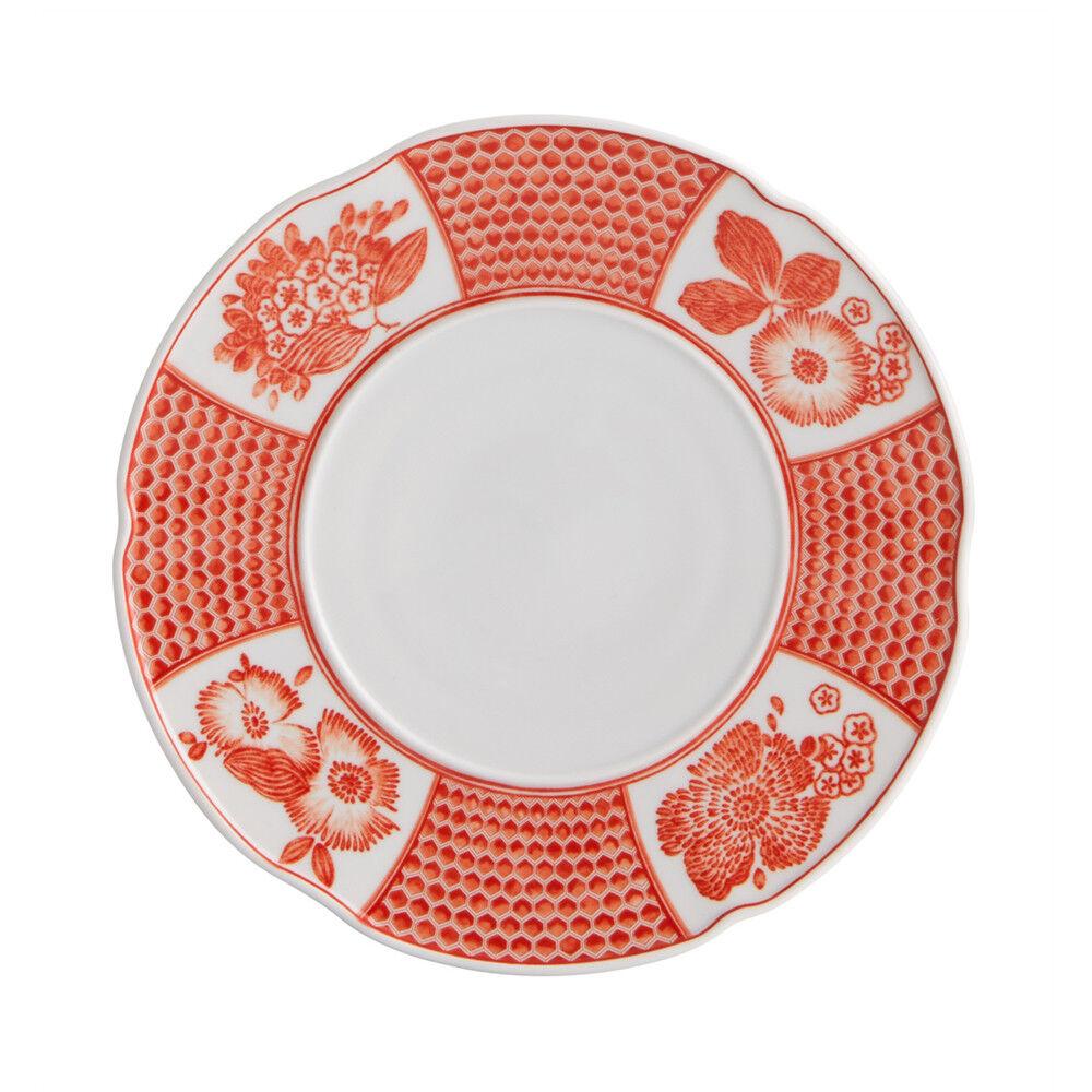 Vista Alegre Porcelain Coralina Bread & Butter Plate - Set of 4