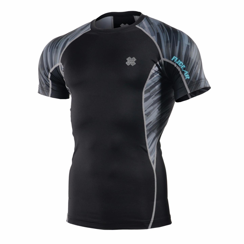 FIXGEAR C2S-B67 Compression Base Layer Workout Shirt Sportswear Gym MMA