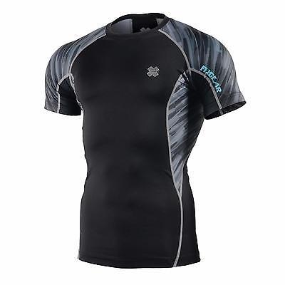 FIXGEAR C2S-B46 Compression Base Layer Workout Shirt Sportswear Gym MMA