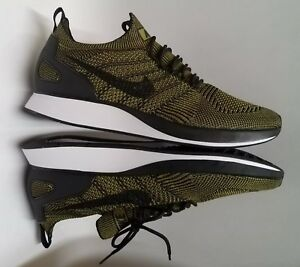 b8f7c10cdbad Nike Air Zoom Mariah Flyknit Racer Olive Green Men s Lifestyle Shoes ...