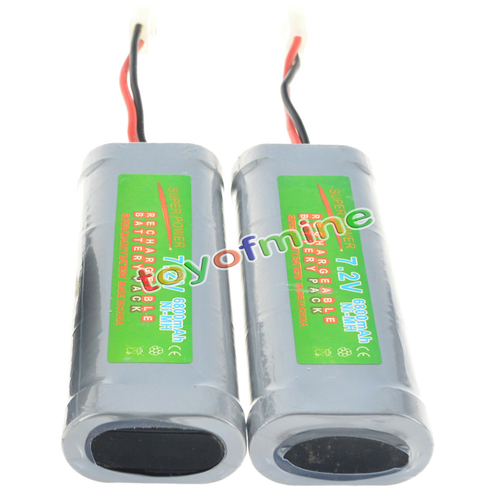 How long to charge x thousand mAH RC car batteries