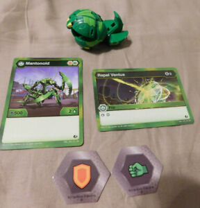 Bakugan Brawlers Battle Planet AQUOS TURTONIUM B500 2 Bakucores /& CARDS
