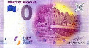 13-LA-ROQUE-D-039-ANTHERON-Abbaye-de-Silvacane-2020-Billet-Euro-Souvenir