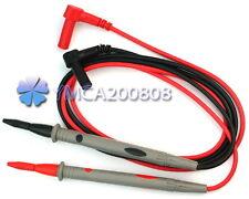 1 Par Universal Cable de Prueba Probador con Puntas para Digital Multímetro 10A