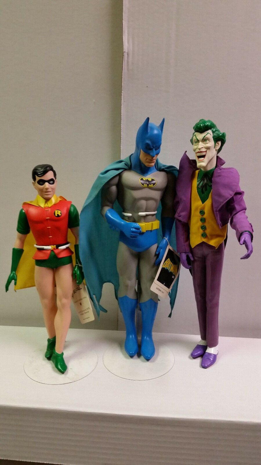 Batman Robin and Joker from Presents Hamiliton Gifts 1976 and 1982