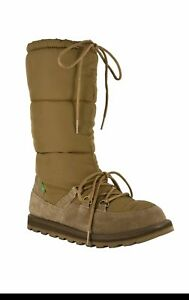 Boot Moon Snow Surfer 38 5 Brown 7 Winter Sidewalk Sanuk uk tCXH5