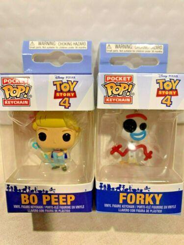 DISNEY PIXAR TOY STORY 4 FUNKO POP MINI Porte-clés Bo Peep forky difficile à trouver