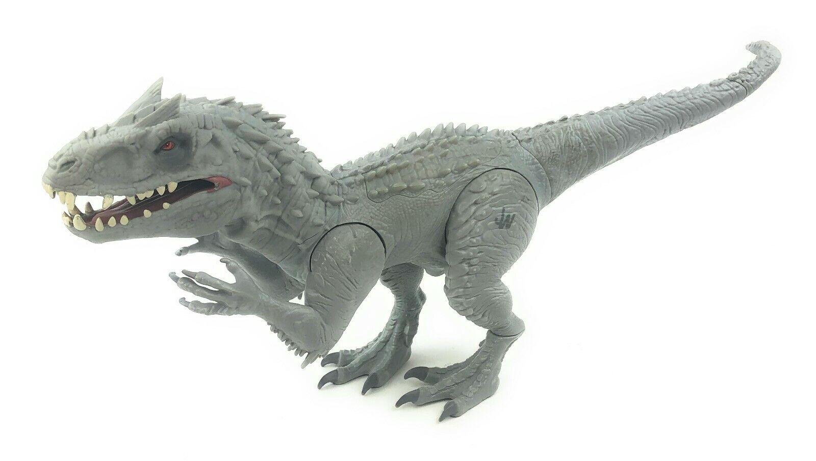 "2014 Hasbro Jurassic World Indominus Rex 20"" Dinosaur Toy w  Lights and Sound"