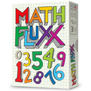 Math Fluxx Numerical Card Game with Ever Changing Rules 2 to 6 Players Ages 8+