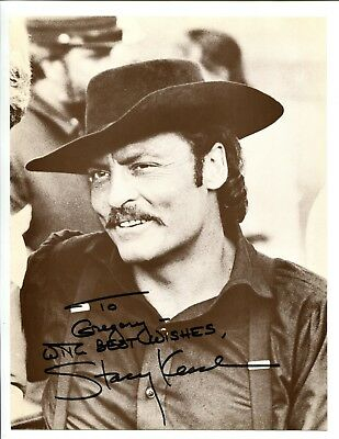 Professional Sale Stacey Keach Actor Signed 8x10 Photo Jsa/psa Guarantee Attractive Fashion Autographs-original
