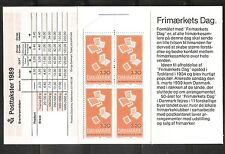 Denmark SC # 880 Stamp day 50th anniversary. Complete Booklet .MNH