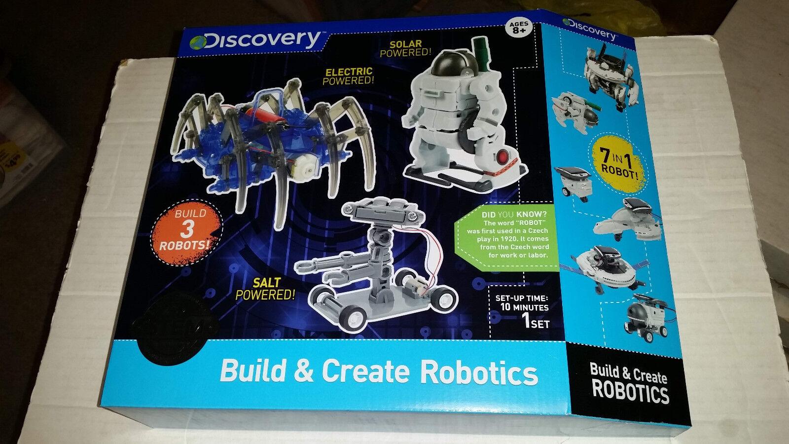 Discovery Kids Build & Create Robotics NEW SEALED